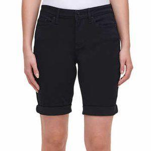 NWO Tags DKNY Black Bermuda Shorts Sz 4